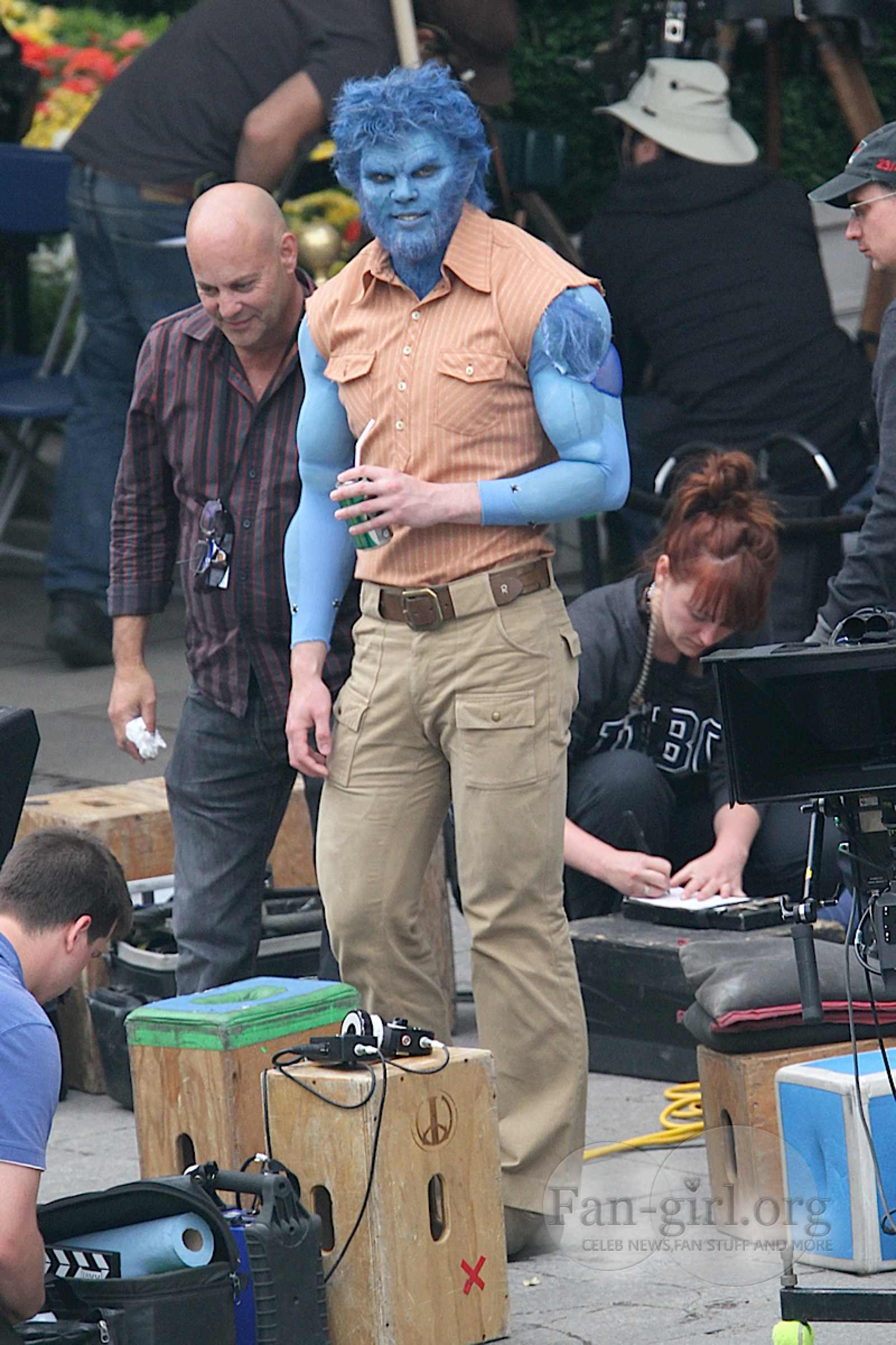 X-MEN: DAYS OF FUTURE PAST: New On-the-Set Images