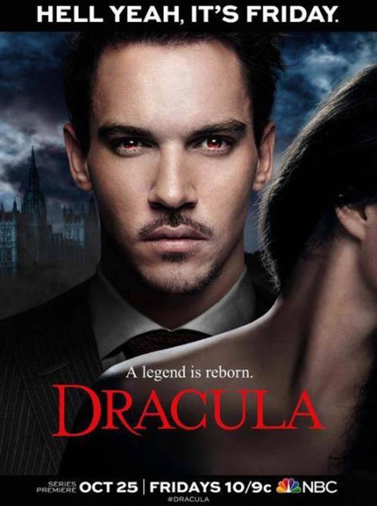 Dracula Jonathan Rhys Meyers Text repro POSTER
