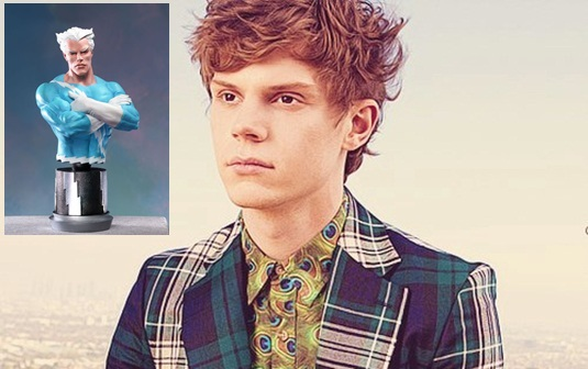 Evan Peters - Quicksilver