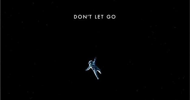 Don t let go alfonso cuaron s gravity reveals new poster