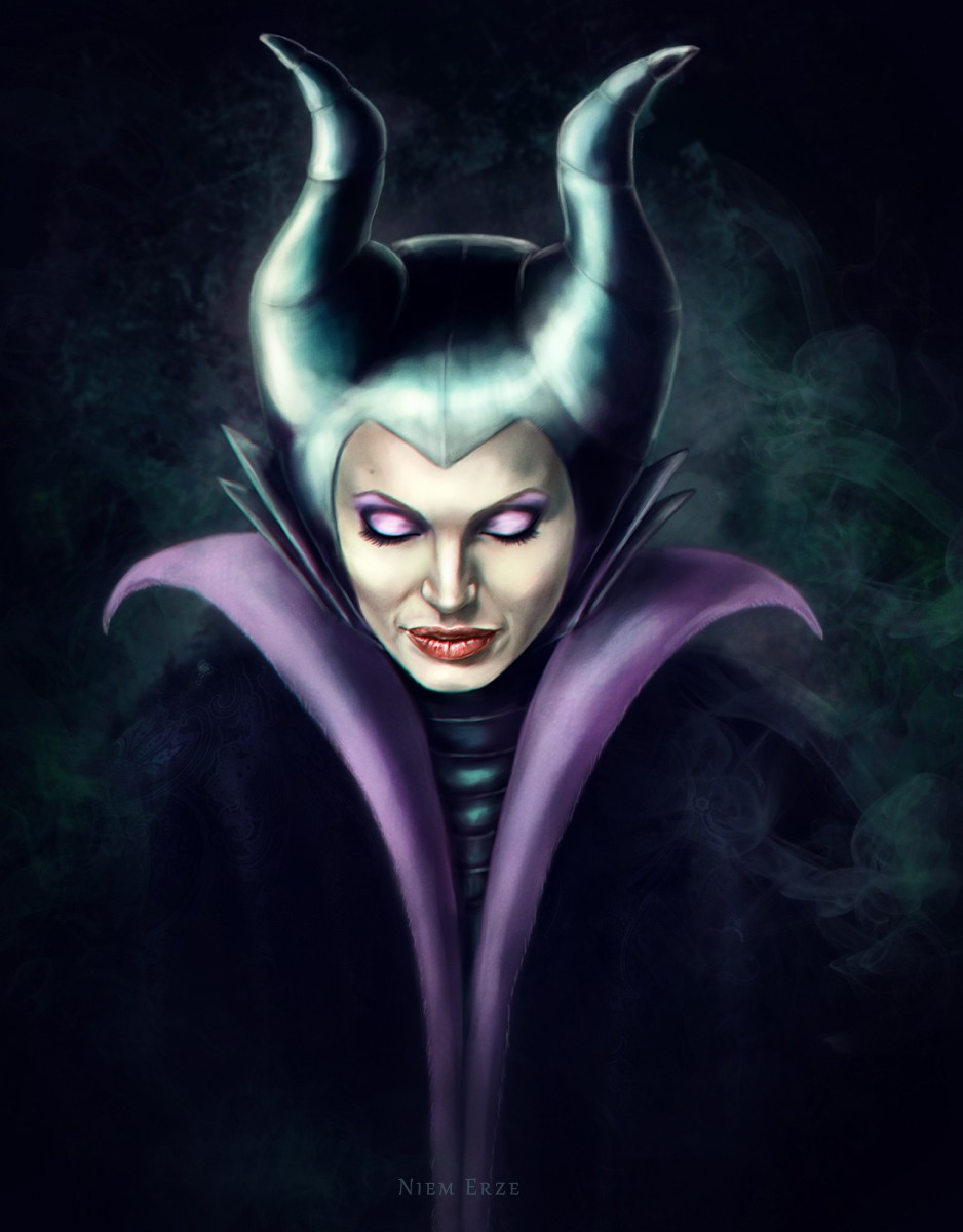 Maleficent Poster Fan Made Angelina Jolie