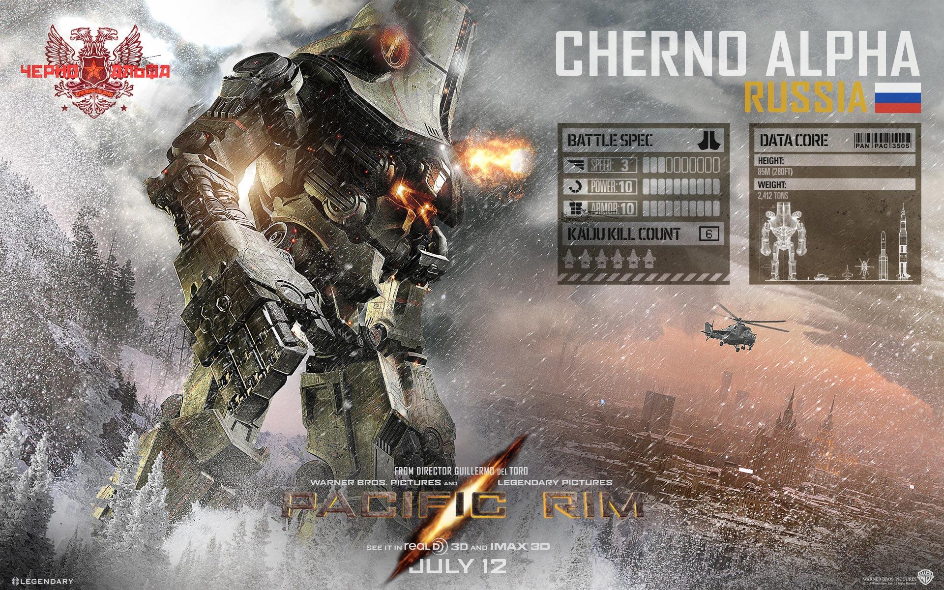 PACIFIC RIM Wallpapers Pacific Rim Cherno Alpha Pilots