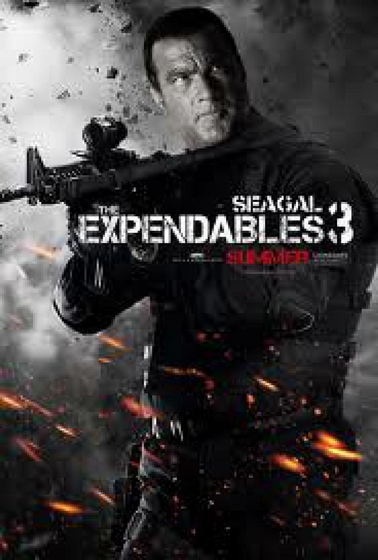The Expendables3  with Steven Seagal