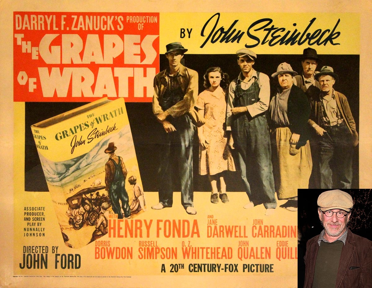 "the grapes of wrath what makes Featuring folksy, jazz-inspired music by ricky ian gordon, the grapes of wrath  has been called ""the great american opera"" the grapes of wrath opera in two."