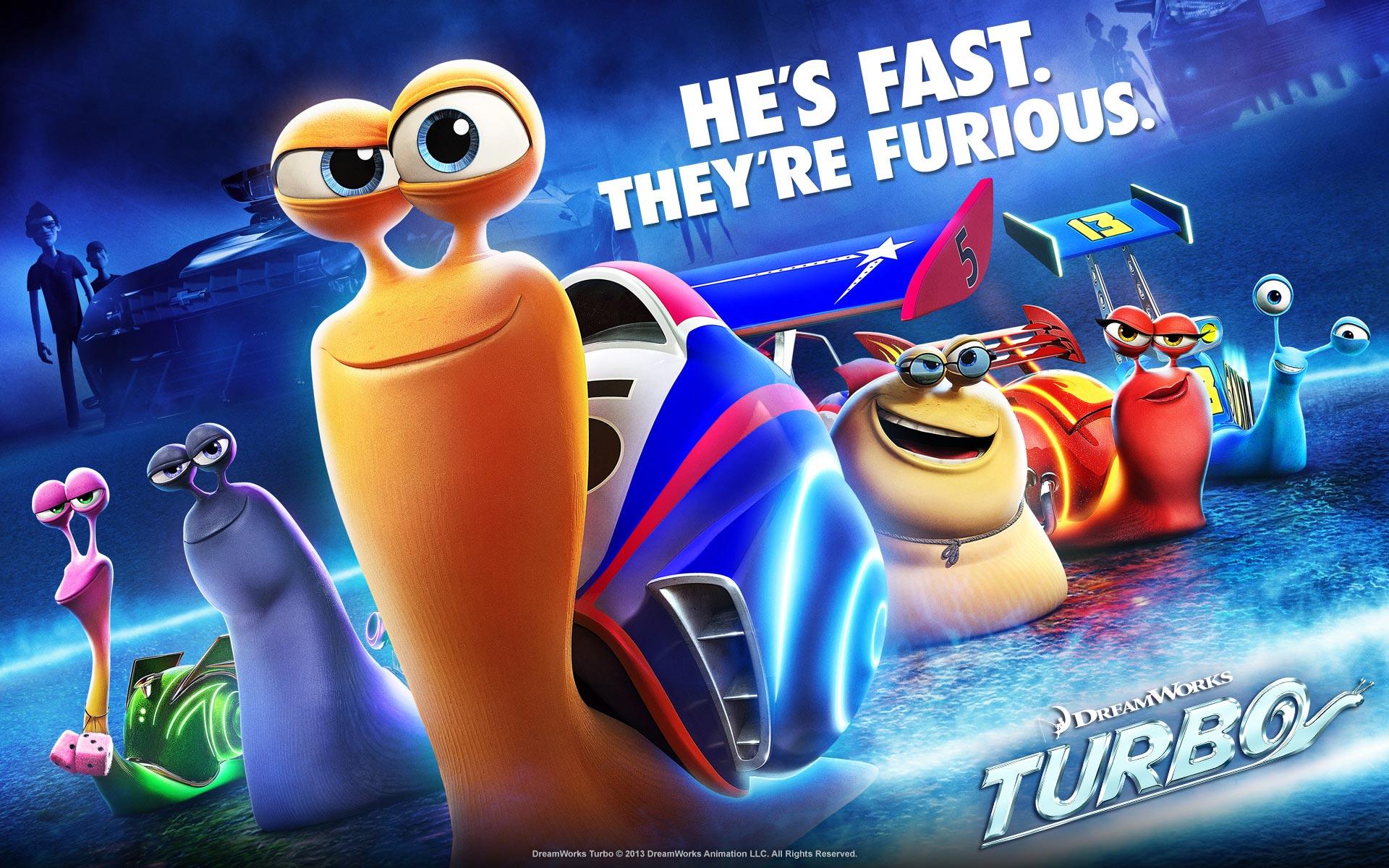 Turbo Movie Wallpapers