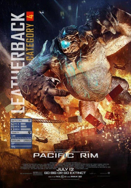 Pacific Rim, Leatherback, Category 4