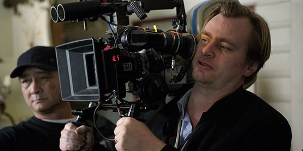 Christopher Nolan On Set Interstellar