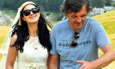 ON THE MILKY ROAD Monica Bellucci Emir Kusturica Set Photo 01