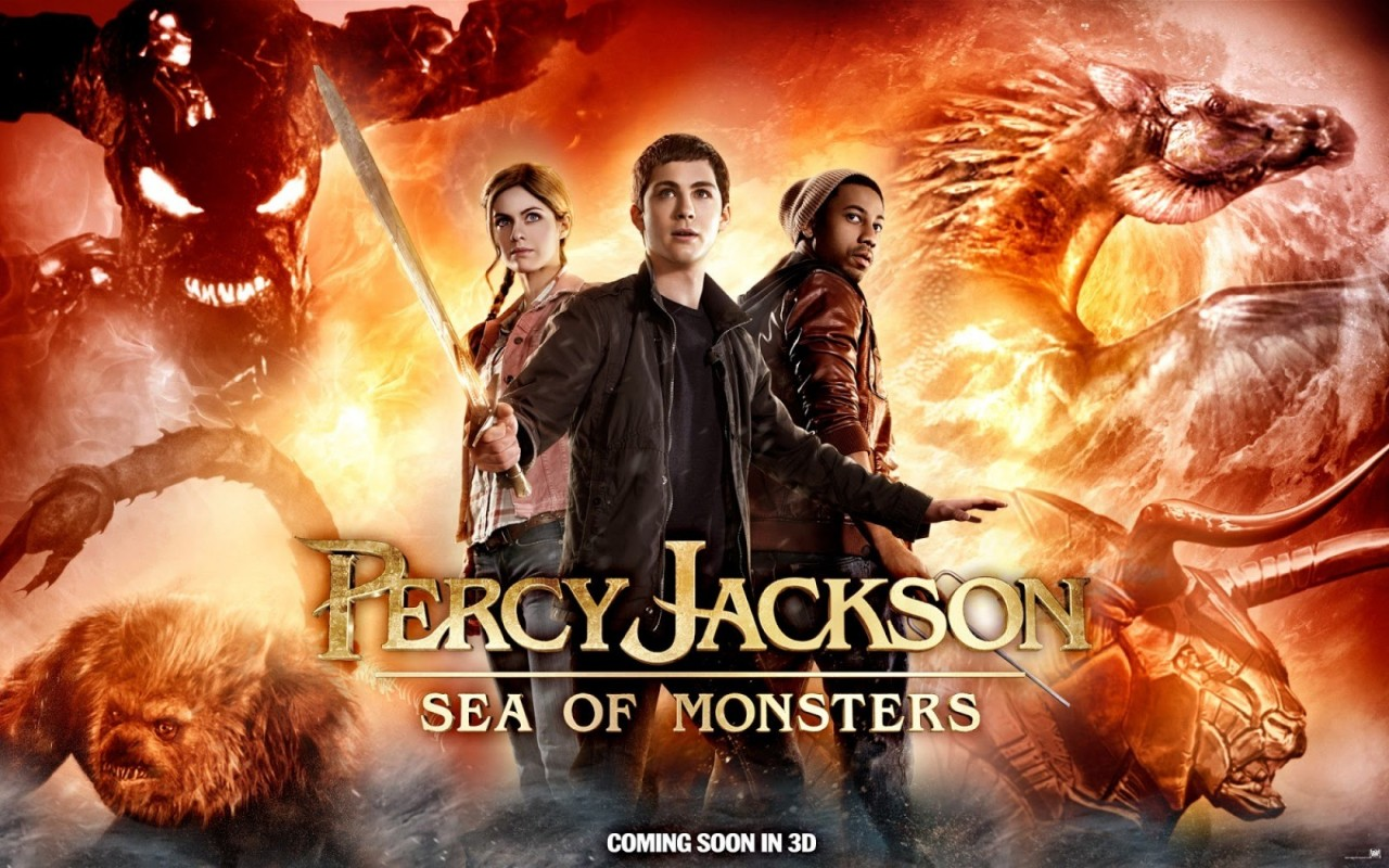 PERCY JACKSON: SEA OF MONSTERS Clip, Featurette