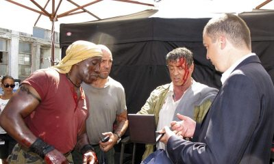 THE EXPENDABLES 3 Set Photo 09