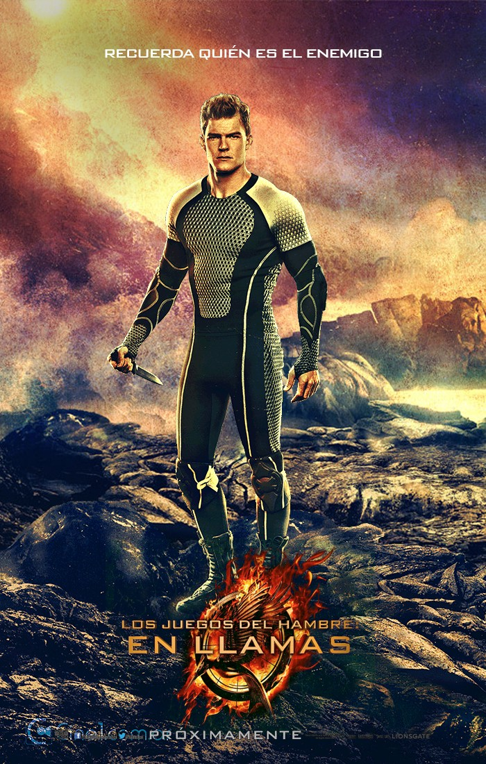 Peeta Mellark Hunger Games Poster