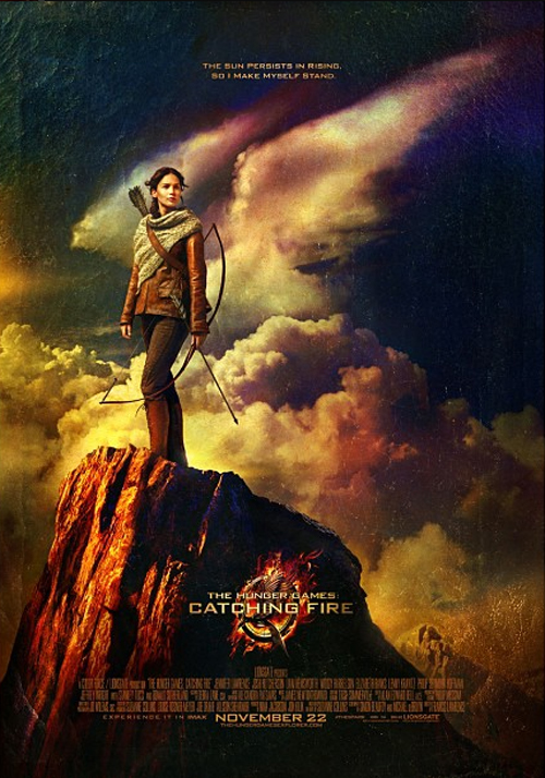 The Hunger Games: Catching Filre - Poster