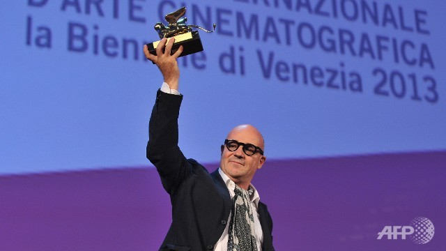 Golden Lion 2013 - Gianfranco Rosi-Sacro GRA
