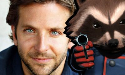 Bradley Cooper as Rocket Raccoon-Guardians of the Galaxy