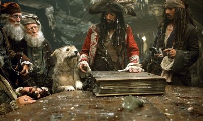 Keith Richards-Johnny Depp-Pirates Of The Caribbean - At World's End