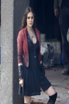 THE AVENGERS: AGE OF ULTRON Set Photos From Saint Martin (Italy) - Elizabeth Olsen