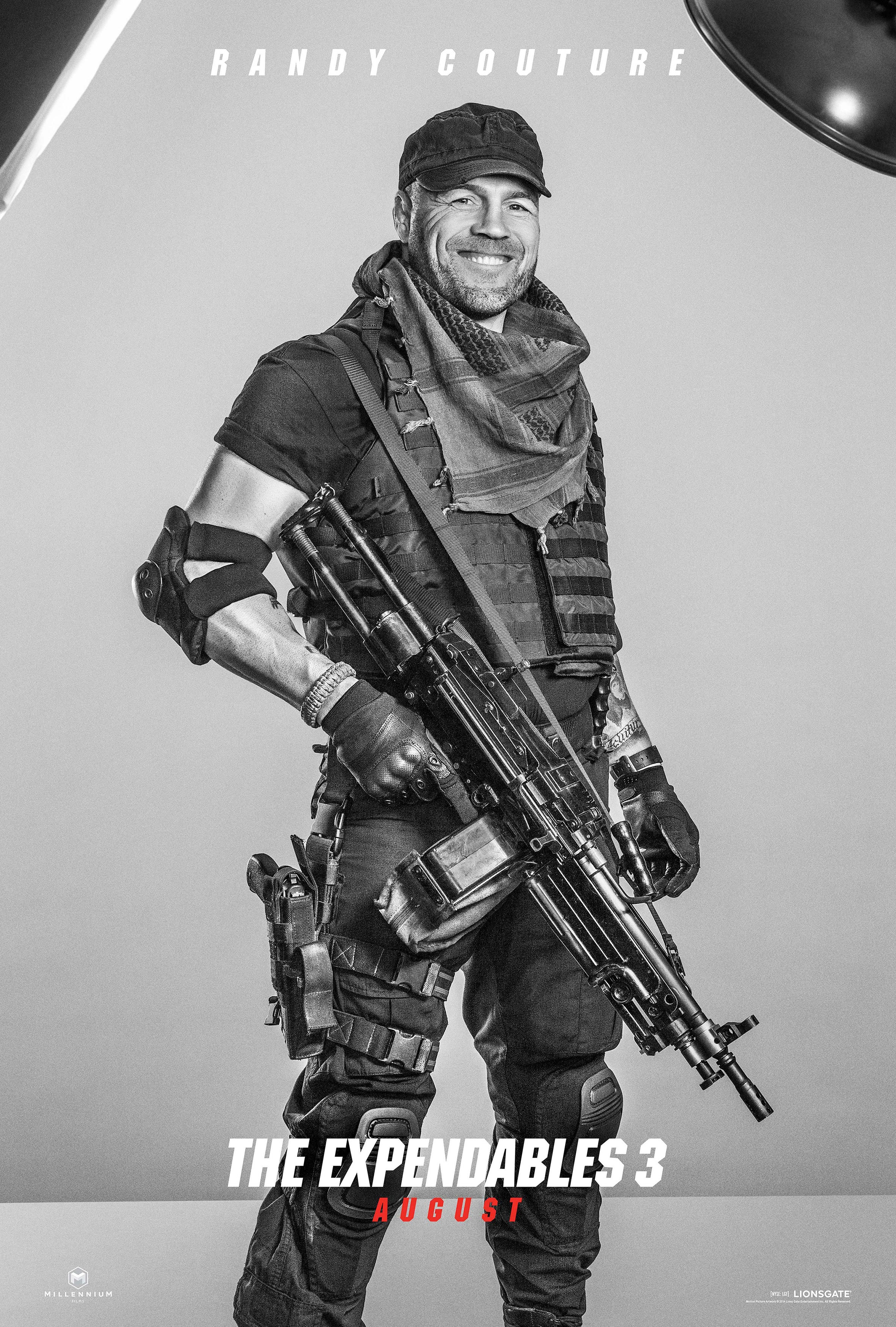 THE EXPENDABLES 3 Character Posters! (+16) - FilmoFilia