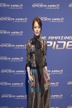 Emma Stone at THE AMAZING SPIDER-MAN 2 Premiere in Rome (Italy)