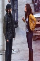 TEENAGE MUTANT NINJA TURTLES Set Photos Featuring Megan Fox