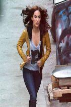 TEENAGE MUTANT NINJA TURTLES Set Photos Featuring Megan Fox