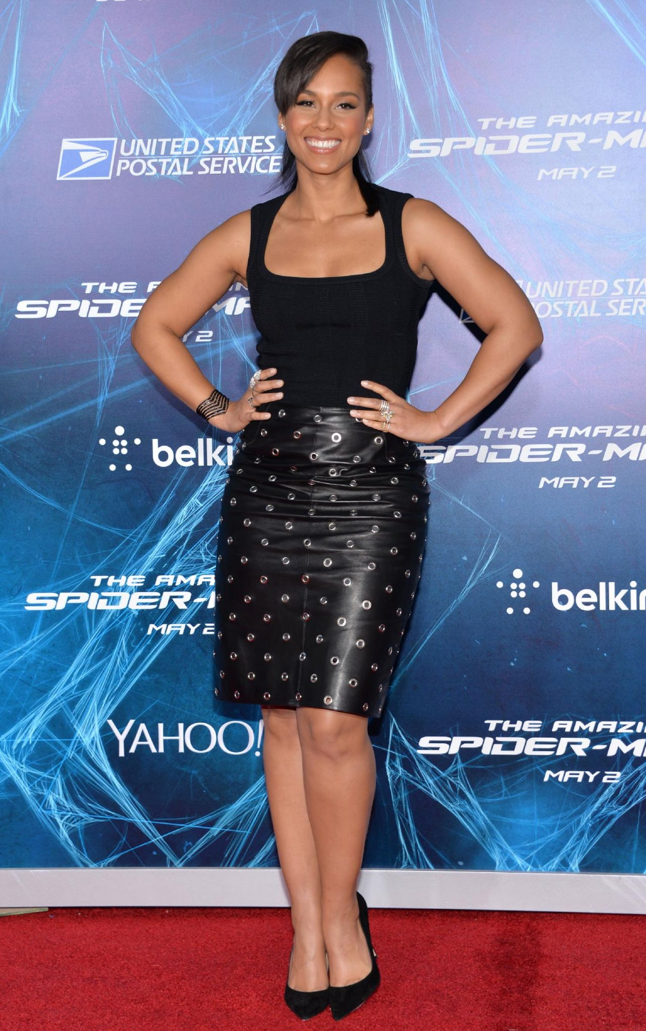 THE AMAZING SPIDER-MAN 2 Premiere in New york City – Alicia Keys
