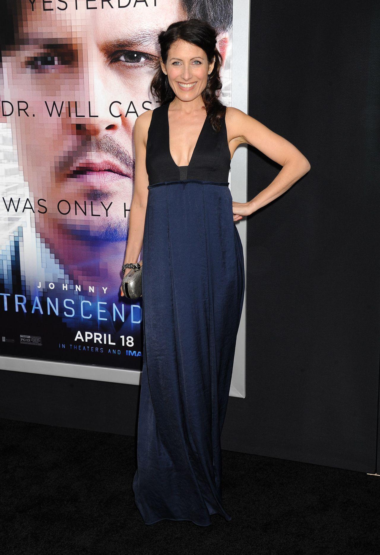 TRANSCENDENCE Premiere in Los Angeles – Lisa Edelstein