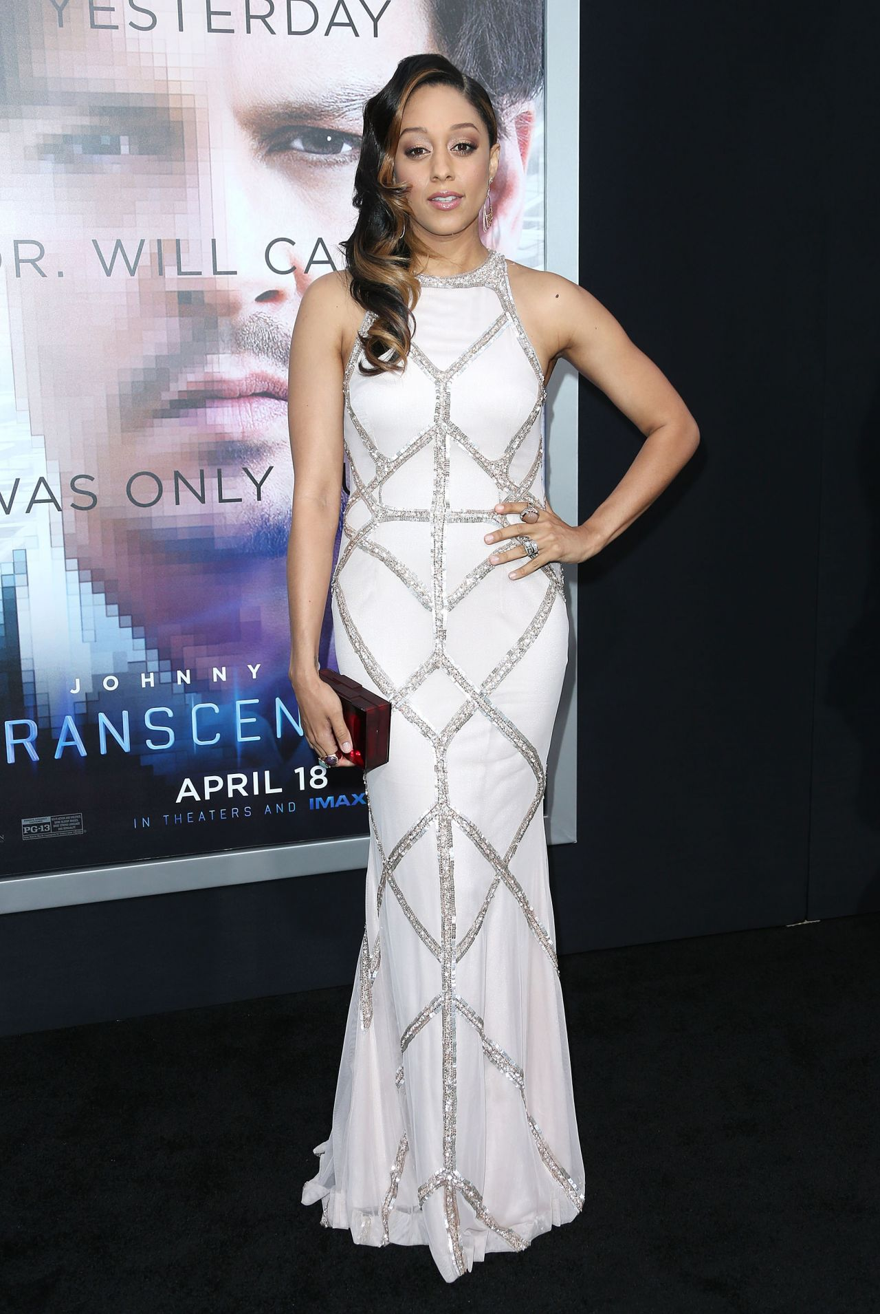 TRANSCENDENCE Premiere in Los Angeles - Tia Mowry