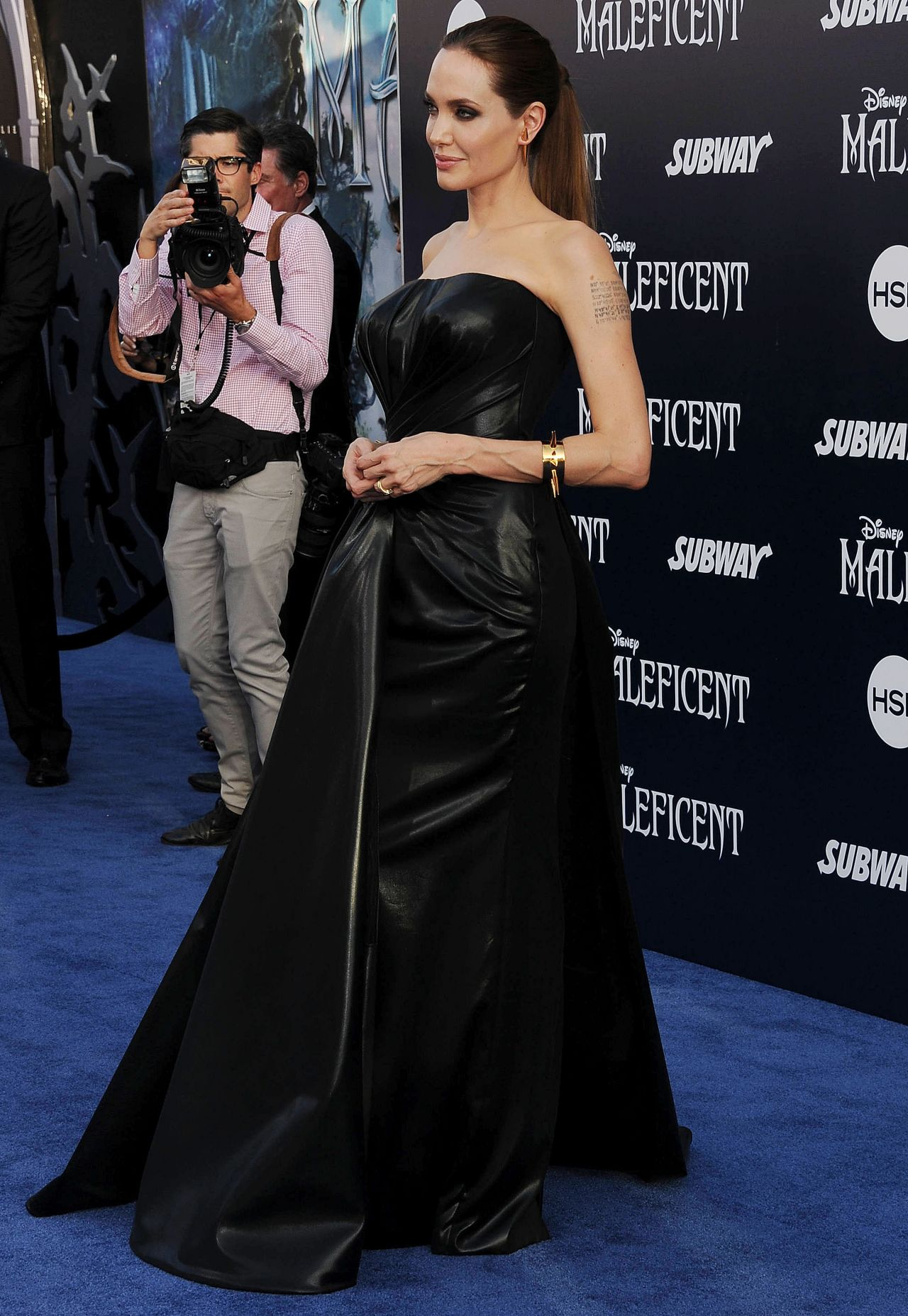 Maleficent World Premiere In Hollywood Angelina Jolie