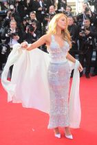 MR. TURNER Premiere at 2014 Cannes Film Festival - Blake Lively on Red Carpet