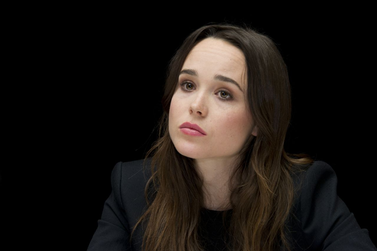 X-MEN: DAYS OF FUTURE PAST Press Conference - Ellen Page