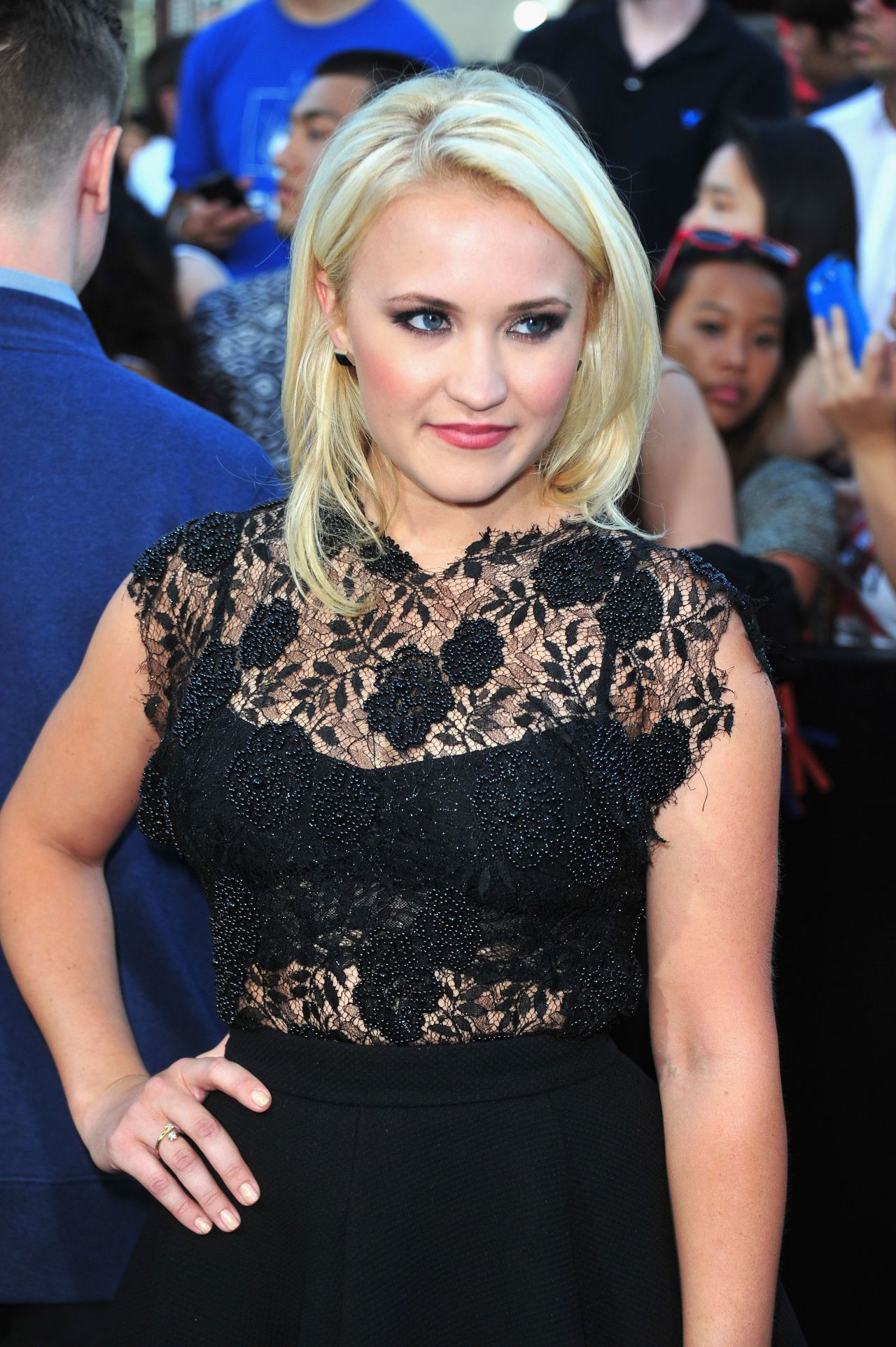 22 JUMP STREET Premiere in Westwood - Emily Osment