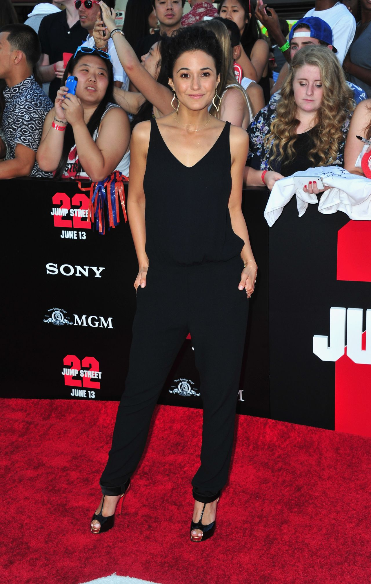 22 JUMP STREET Premiere in Westwood – Emmanuelle Chriqui
