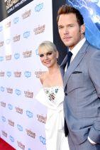 GUARDIANS OF THE GALAXY Premiere in Hollywood - Anna Faris, Glenn Close and Chris Pratt