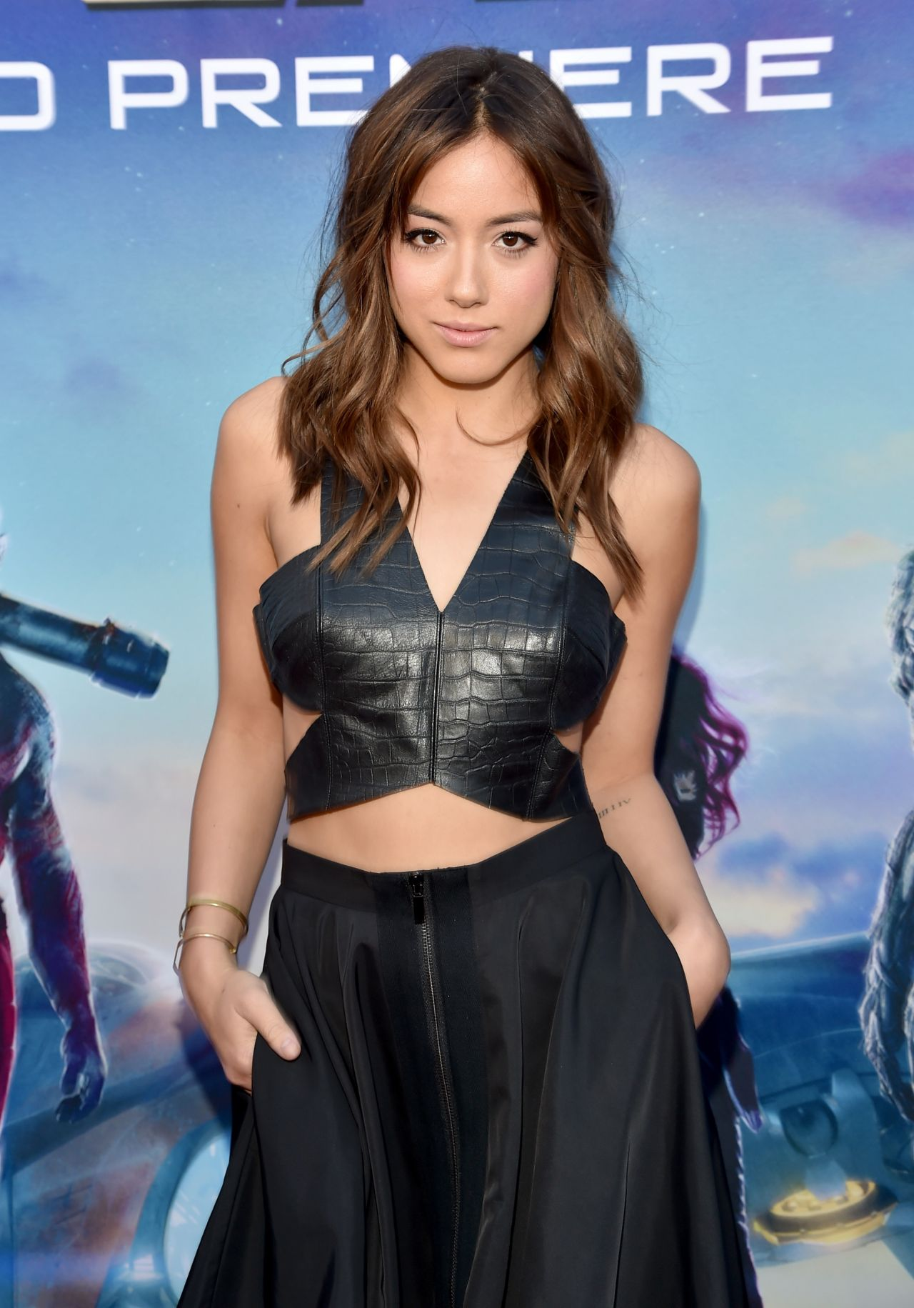 GUARDIANS OF THE GALAXY Premiere in Hollywood – Chloe Bennet