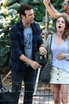SLEEPING WITH OTHER PEOPLE Set Photos -  Alison Brie and Jason Sudeikis