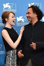 BIRDMAN Photocall & Press Conference - Emma Stone - Venice Film Festival 2014