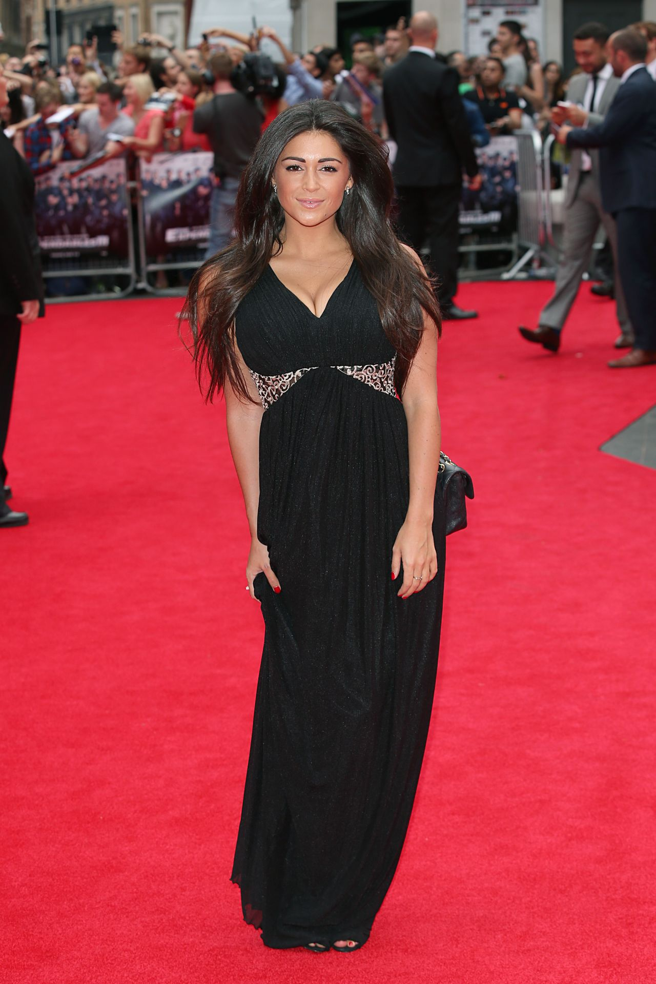 THE EXPENDABLES 3 World Premiere in London – Casey Batchelor