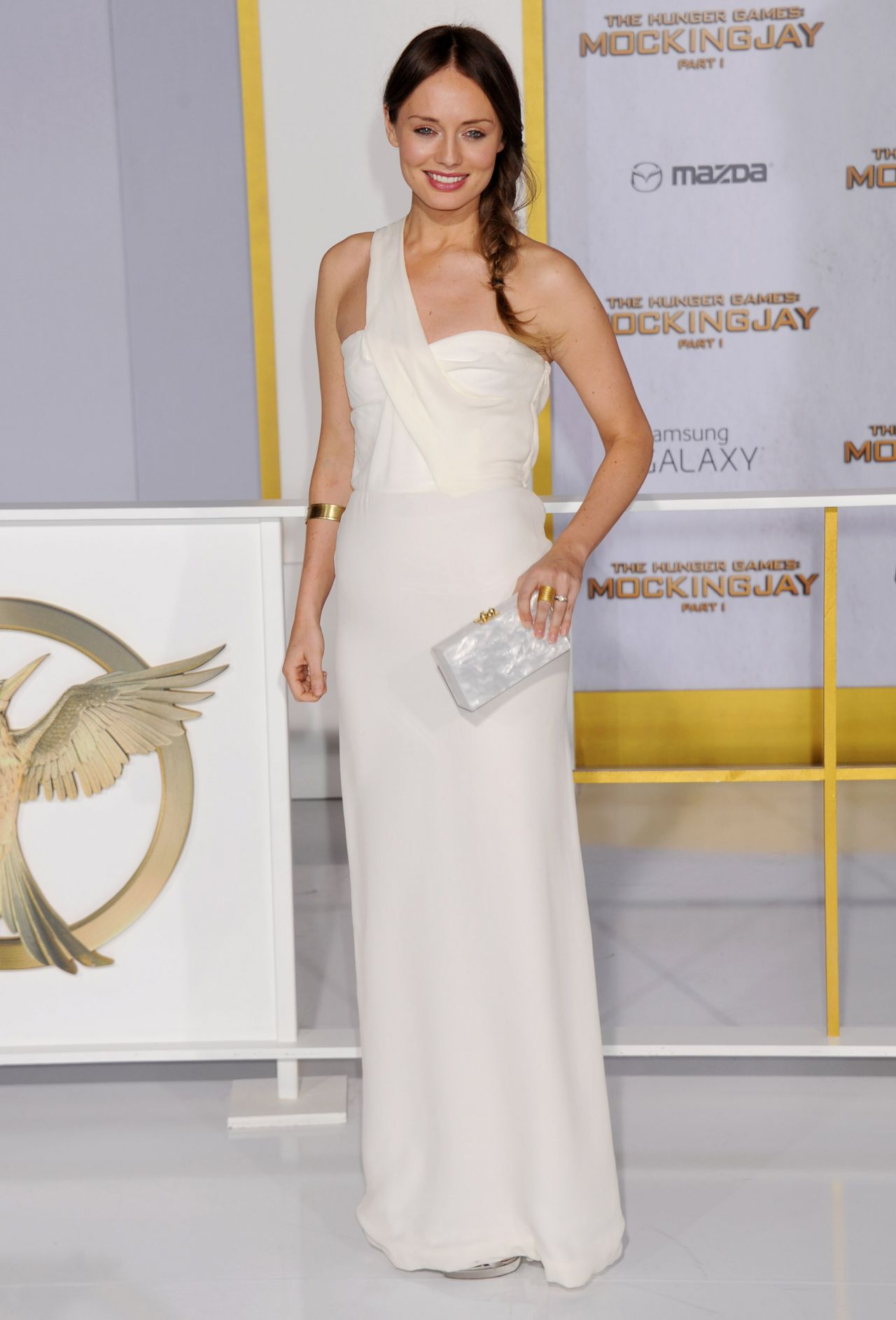 THE HUNGER GAMES: MOCKINGJAY ­PART 1 Premiere in Los Angeles - Laura Haddock