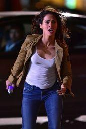 THEENAGE MUTANT NINJA TURTLES 2 Set Photos in New York City - Megan Fox