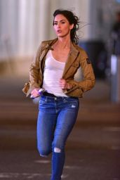 THEENAGE MUTANT NINJA TURTLES 2 Set Photos in New York City - Megan Fox
