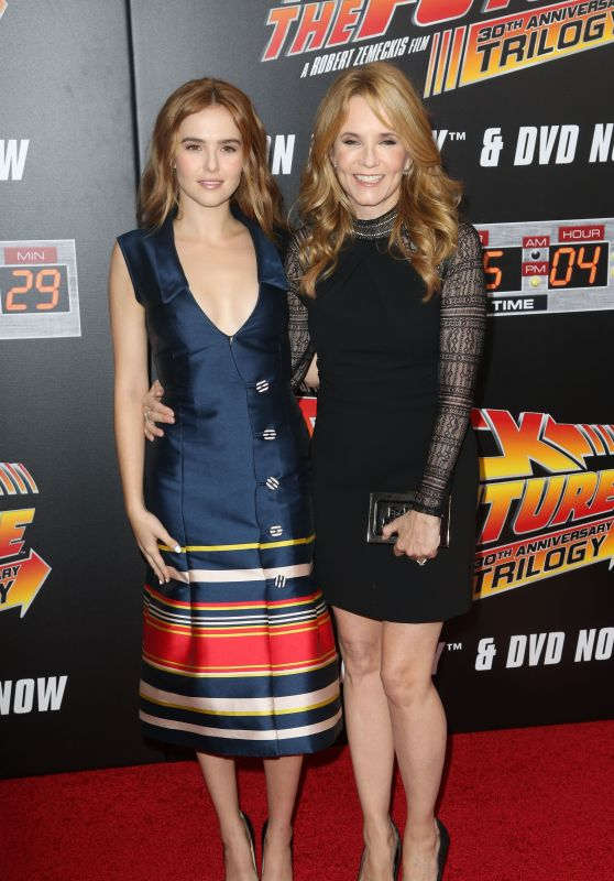 BACK TO FUTURE Special Anniversary Screening in New York - Zoey Deutch & Lea Thompson