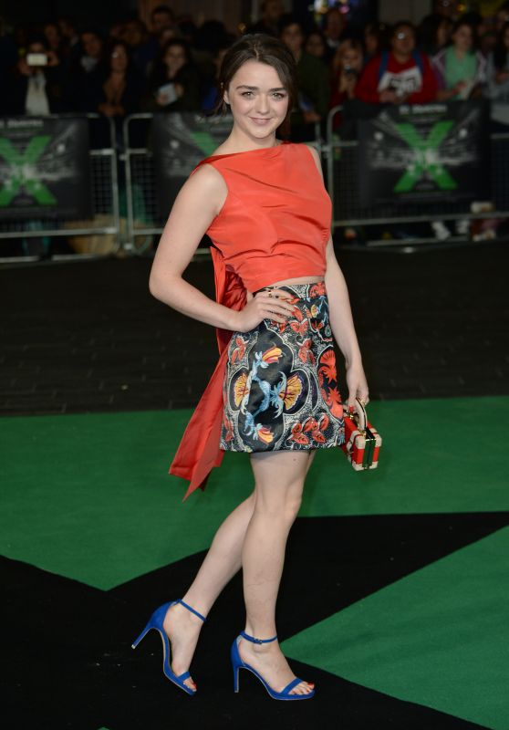 ED SHEERAN: JUMPERS FOR GOALPOSTS Premiere in London - Maisie Williams