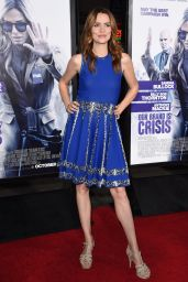 OUR BRAND IS CRISIS Premiere in Hollywood – Saffron Burrows