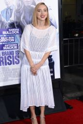 OUR BRAND IS CRISIS Premiere in Hollywood - Zoe Kazan