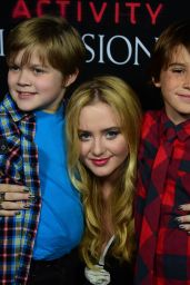PARANORMAL ACTIVITY: THE GHOST DIMENSION Screening in Hollywood - Kathryn Newton