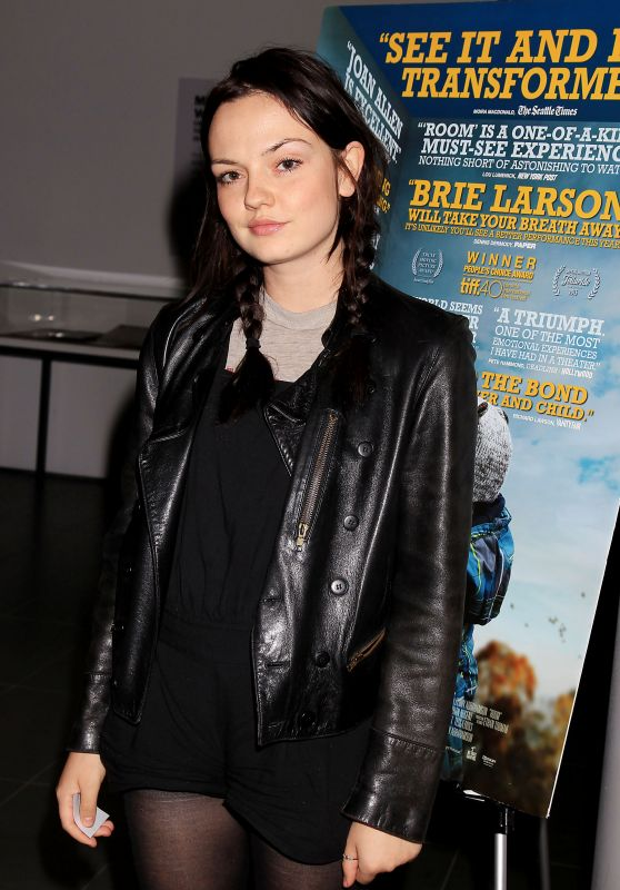 ROOM Screening in New Yerk City - Emily Meade