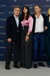 SPECTRE Photocall at Corinthia Hotel in London – Daniel Craig, Monica Bellucci, Naomie Harris & Léa Seydoux