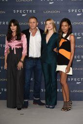 SPECTRE Photocall at Corinthia Hotel in London – Daniel Craig, Monica Bellucci, Naomie Harris & Léa Seydoux