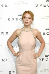 SPECTRE Premiere at Grand Rex Cinema in Paris - Léa Seydoux