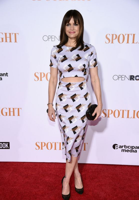 SPORLIGHT premiere in New York City - Carla Gugino